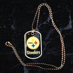 🎉HP🎊 Pittsburgh Steelers dog tag!